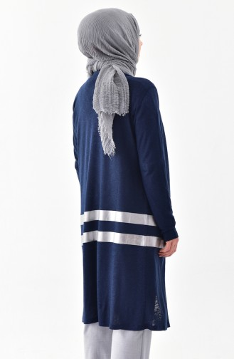 Navy Blue Cardigan 1064-01