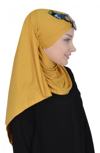 Mustard Shawl 0032-11