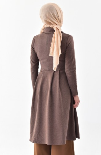 TUBANUR Pocket Pleated Cape 3041-08 Mink 3041-08