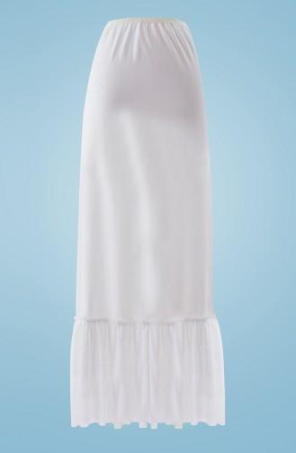 Tutu Maxi Lining 1008-02 White 1008-02