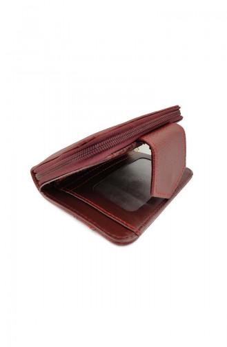 Women´s Wallet Ir07-07 Claret Red 07-07