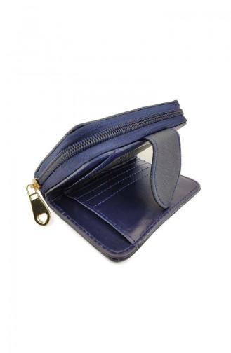 Lady Wallet Ir13-06 Navy Blue 13-06