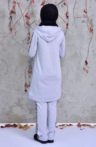 Gray Sweatsuit 1409-06