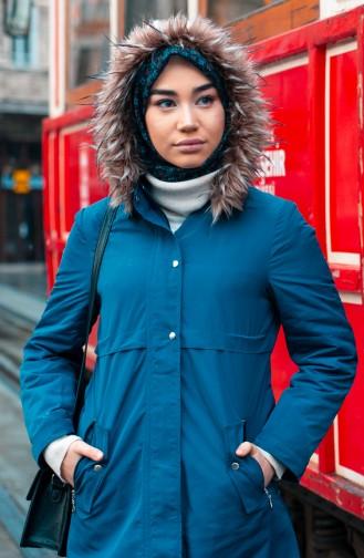 Furry Coat 5108-04 Indigo 5108-04