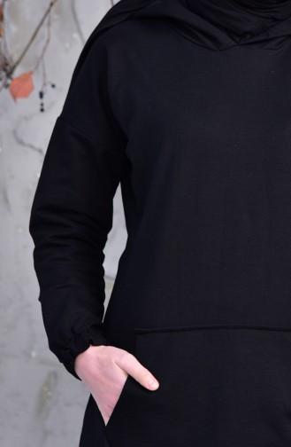 Pockets Sports Tunic 5207-01 Black 5207-01