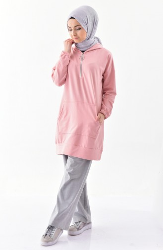 Zippered Sweatshirt 5208-05 Powder 5208-05