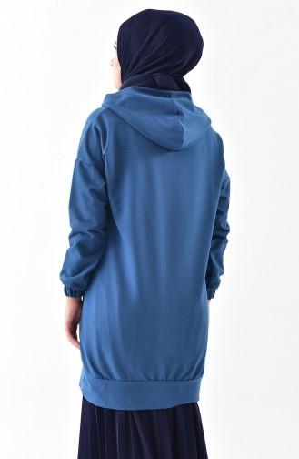 Indigo Sweat shirt 5208-07