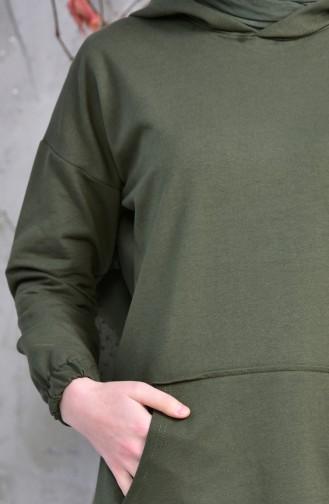 Pockets Sports Tunic 5207-03 Khaki 5207-03
