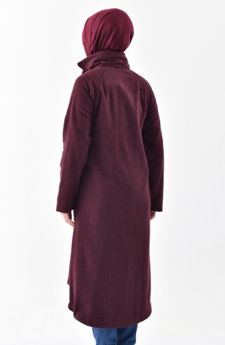 Stehkragen Fleece Cape 2188-03 Weinrot 2188-03