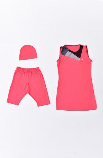 ملابس السباحة برتقالي مائل للحمرة 282-03