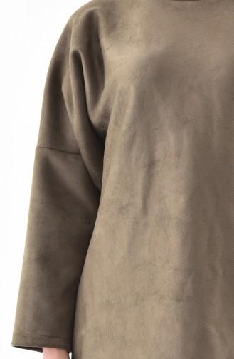 Light Khaki Green Tunic 5865-06