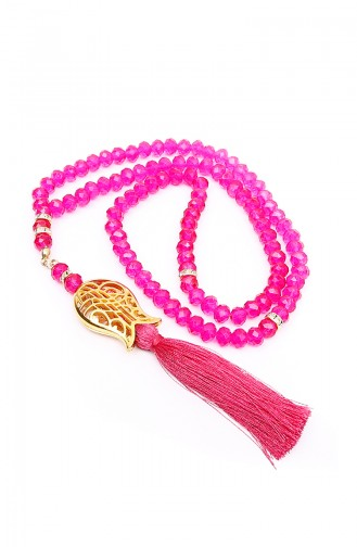 Crystal Tulip tassels Prayer beads 1100-07 Fuchsia 1100-07