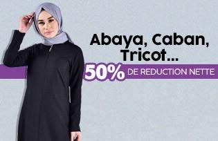 Abaya, Manteau, Tricot 50% de Réduction Nette