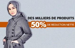 %50 de Réduction Nette