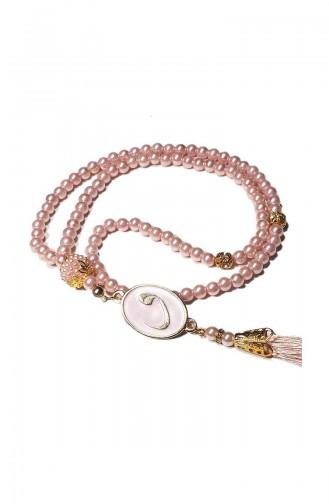 Gebetskette mit Perlen 1010-23 Pink 1010-23