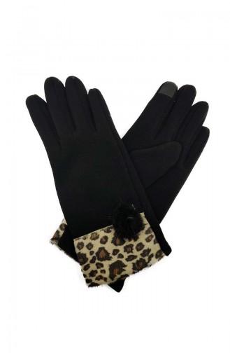 Womens Gloves S01-01 Black 01-01