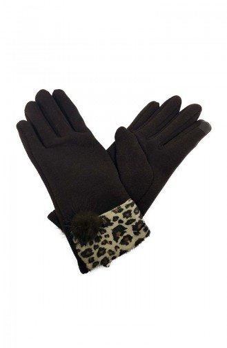 Womens Gloves S01-03 Brown 01-03