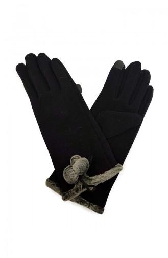 Womens Gloves S02-01 Black 02-01