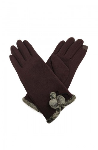 Womens Gloves S02-03 Brown 02-03