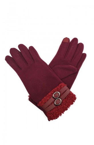 Dame Touch Handschuhe S05-02 Weinrot 05-02