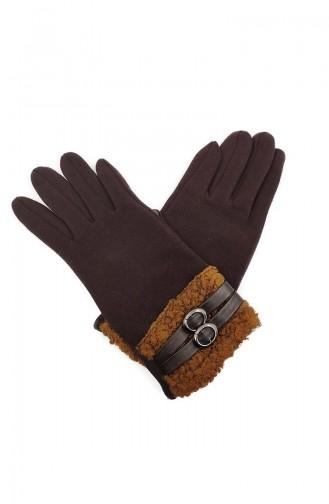 Dame Touch Handschuhe S05-03 Braun 05-03