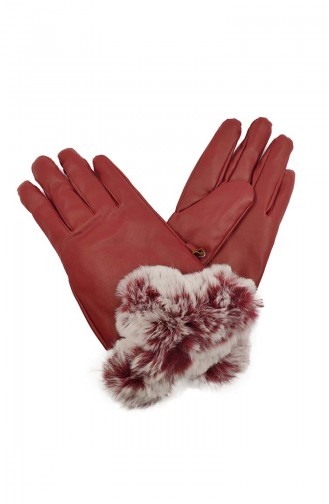 Womens  Gloves S09-02 Red 09-02
