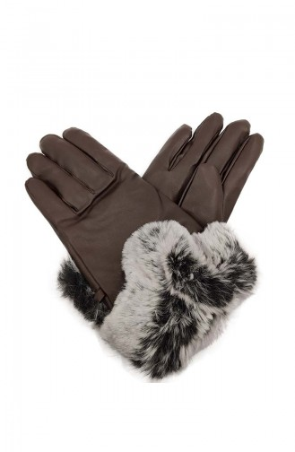 Dame Handschuhe S09-03 Braun 09-03