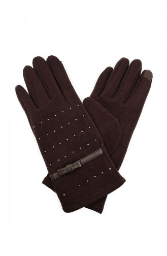 Womens Gloves S14-02 Brown 14-02