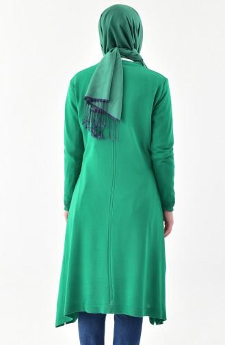 iLMEK Embroidered Knitwear Sweater 3926-10 Green 3926-10