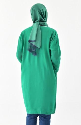 Triko Uzun Kazak 4710-04 Yeşil 4710-04