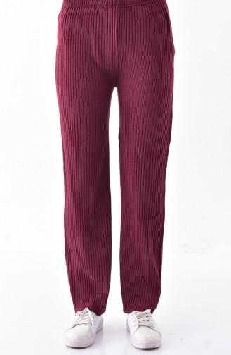 Claret red Pants 1991-04