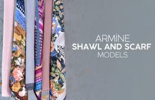 Armine Scarf Models