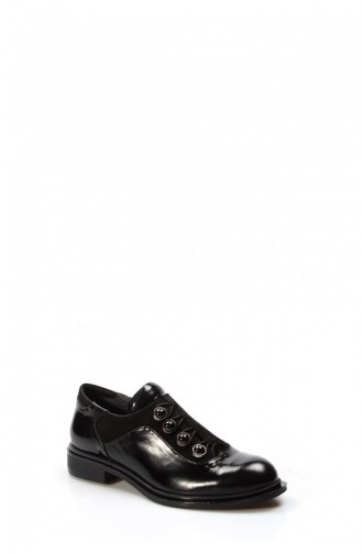 Fast Step Daily Shoes 407Za220 1119 Black Patent Leather Black Suet 407ZA220-16781567
