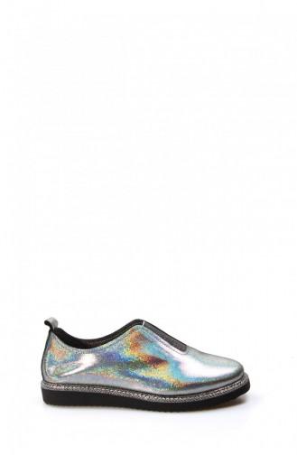 Fast Step Daily Silvery Shoes 888Za144 56 Platinum 888ZA144-16781588
