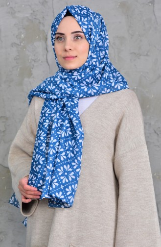 Patterned Cotton Shawl 901420-10 Open Oil 901420-10