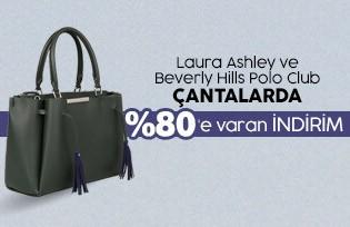acf66b543ea42 ... Laura Ashley ve Beverly Hills Polo Club Çantalar