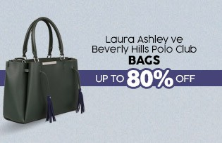 Laura Ashley ve Beverly Hills Polo Club Bags