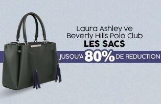Laura Ashley ve Beverly Hills Polo Club Çantalar