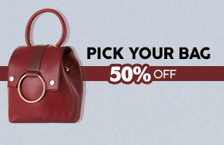Choose Your Bag 50% Discount at Checkout