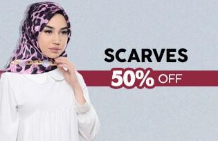 %50 Discount on Sefamerve Scarves