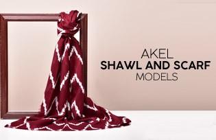 Akel Scarf Models