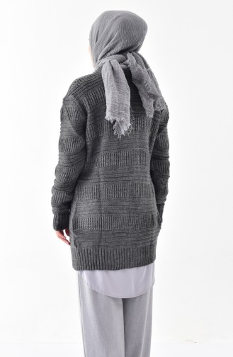 Knitwear Pearl Cardigan 8015-01 Anthracite 8015-01