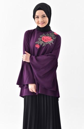 Purple Blouse 4472-01