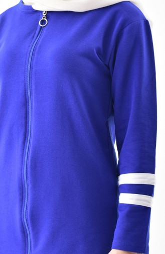 Zippered Tracksuit Suit 18050A-06 Saks 18050A-06