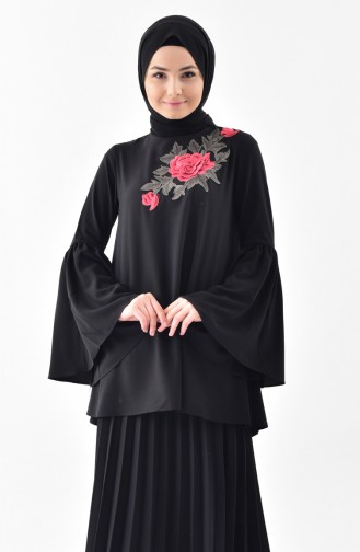 Black Blouse 4472-02
