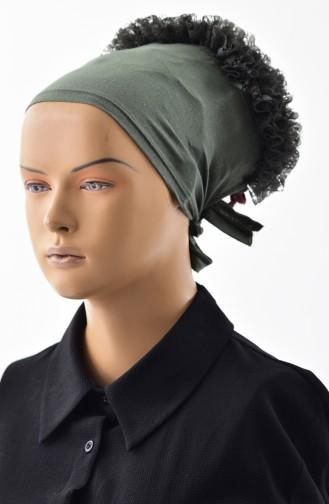 Bonnet a Dentelle -08 Khaki 08