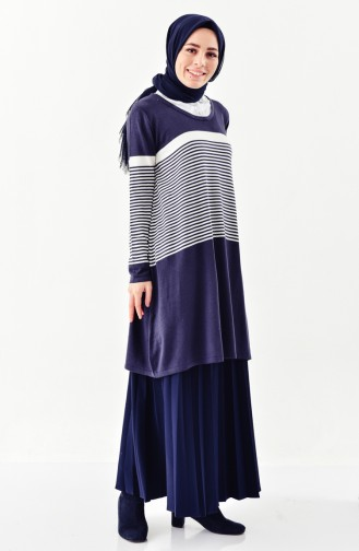 Navy Blue Tricot 3907-07