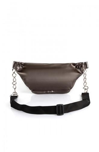 Women´s Waist Bag Bs10516 Silver 10516GU