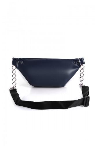 Women´s Waist Bag Bs10516La Navy Blue 10516LA