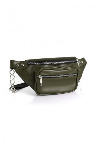 Women´s Waist Bag Bs10516Ye Green 10516YE
